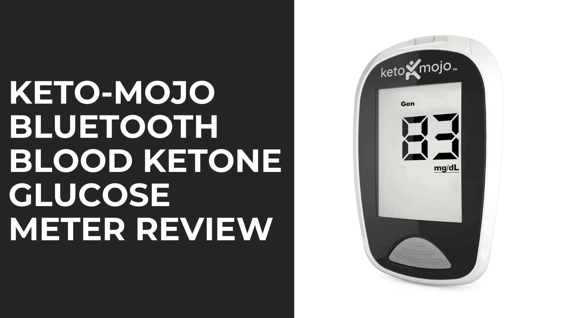 KETO-MOJO Bluetooth Blood Ketone Glucose Meter