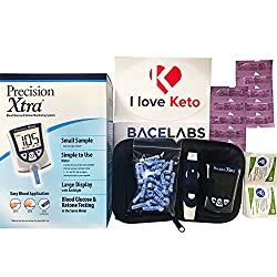 Precision Xtra Blood Glucose and Ketone Monitoring Meter Kit