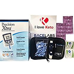 Precision Xtra Blood Glucose and Ketone Monitoring Meter Kit