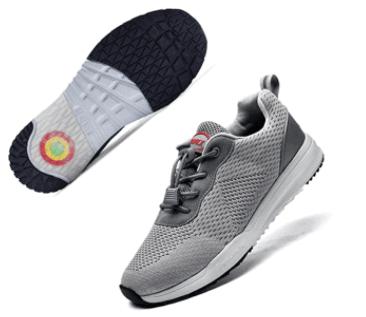 AMAXM Men Plantar Fasciitis Arch Support Orthopedic Shoes Wide Diabetic Arthritis Walking