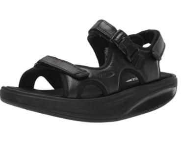 MBT Men's Kisumu 3S Rocker Bottom Leather Sandals